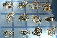 silver jewelry wholesale, 925 jewelry silver sterling Celtic ring wholesale lot