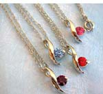 wholesale necklace, fashion jewelry and cz jewelry silver chain necklaces